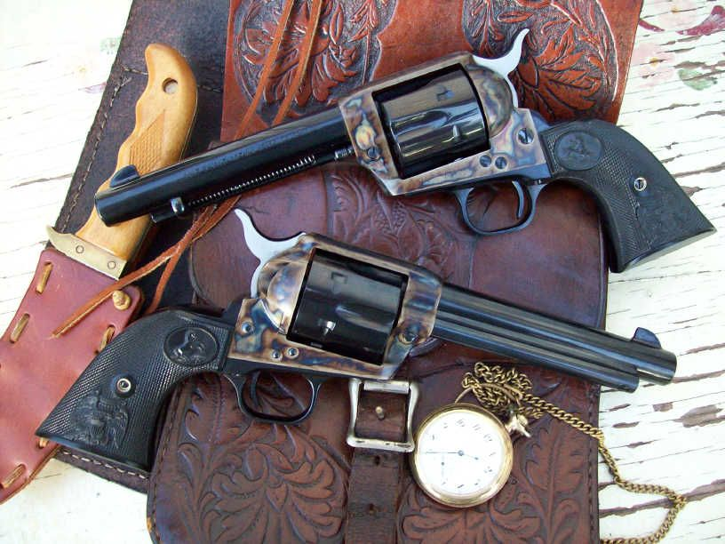 Genuine Colt Six Shooters