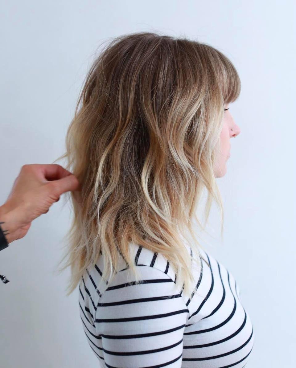 Modern shag hair ideas pinterest