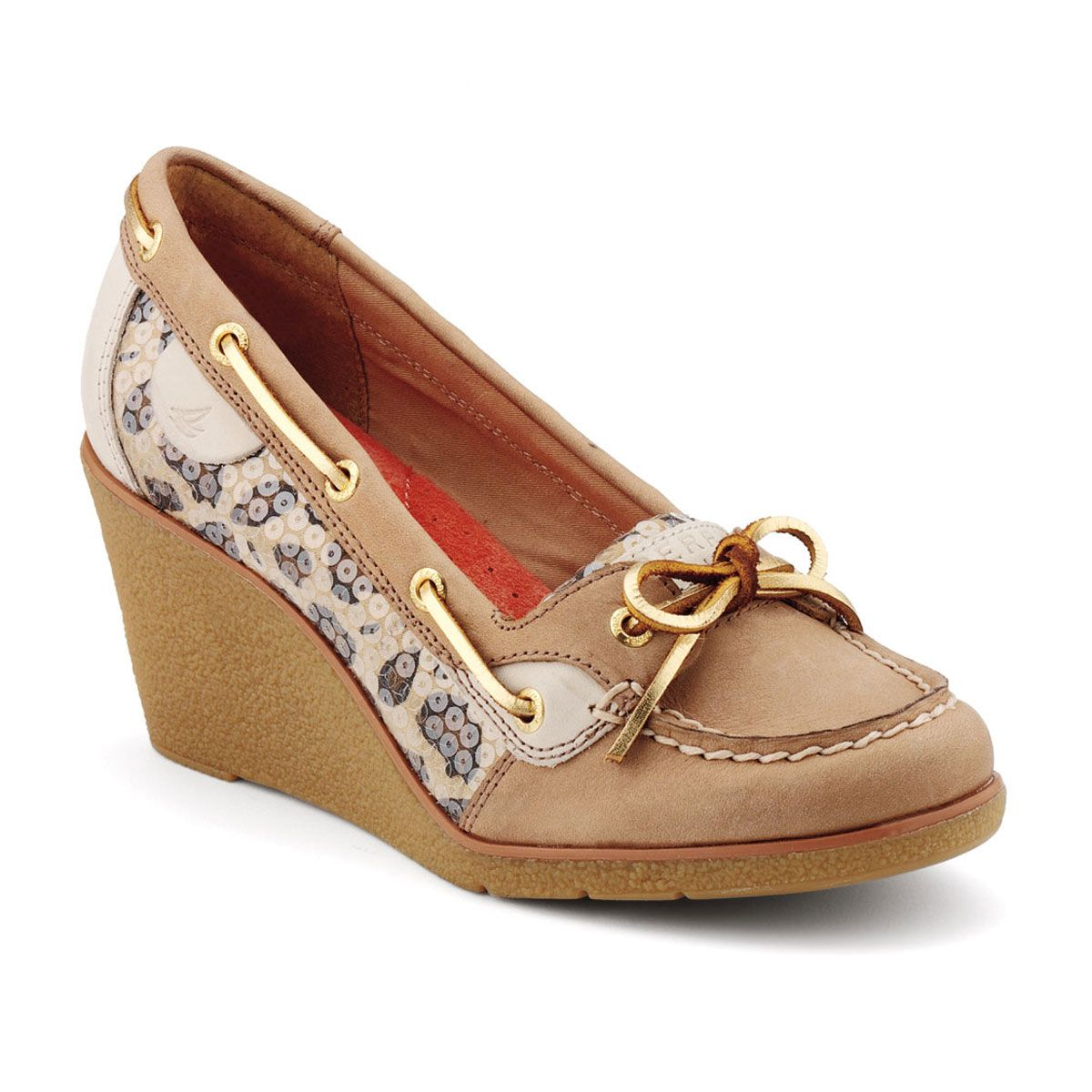Sperry + Wedges = must add to my collection of shoes immediately. they  would be a work expense right?