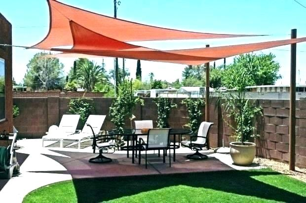 Sun Shade Sail Deck Ideas Backyard Shades Design Awnings For Canvas Installation Sails Dec In 2020 Backyard Shade Shade Sails Patio Patio Shade