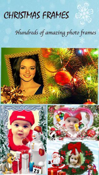 iPhone Screenshot 1 christmas frame apps Pinterest Christmas