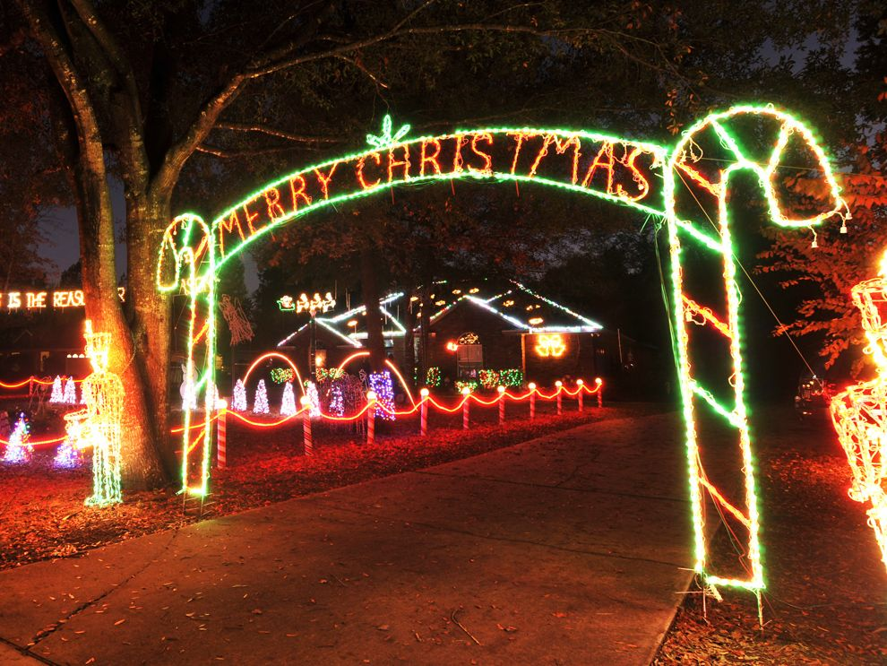 Map Your Guide To Jacksonville S Best Holiday Lights Displays Best Christmas Light Displays Holiday Lights Display Christmas Light Displays