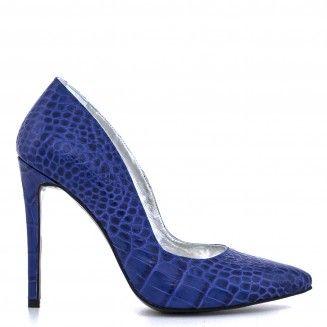 1521 pantofi Presaj albastru