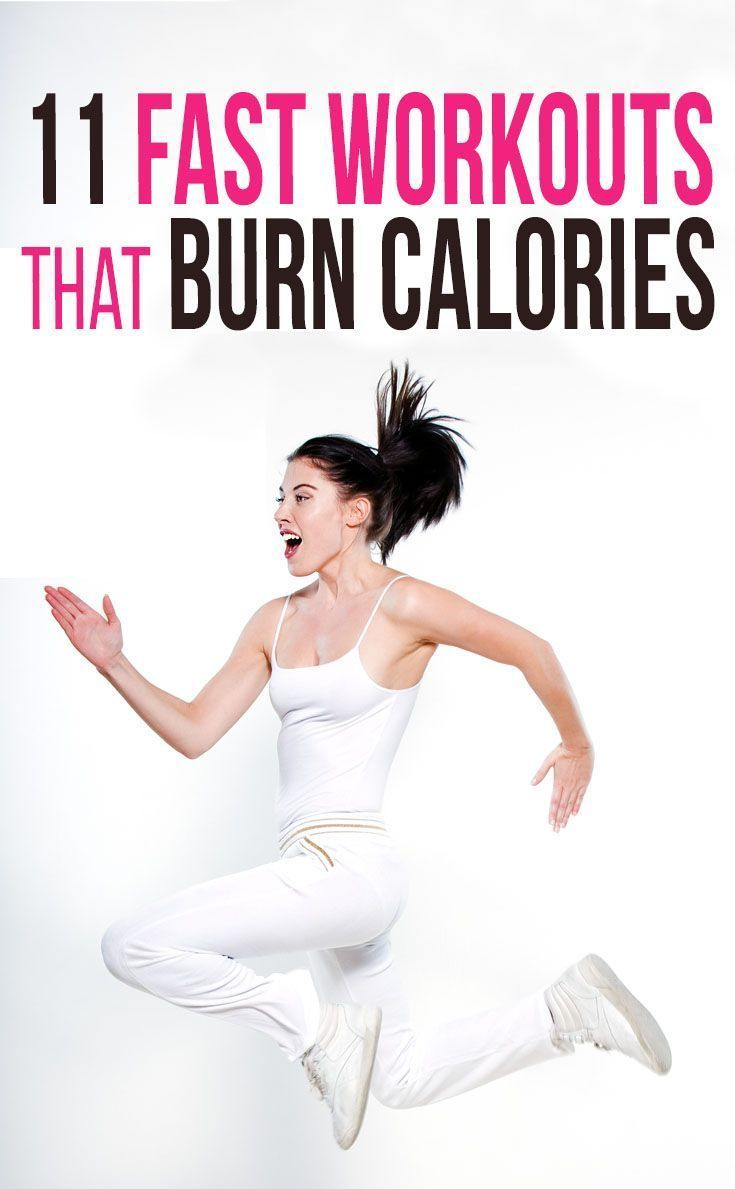 11 Fast Workouts for Burning Calories | Fast workouts ...