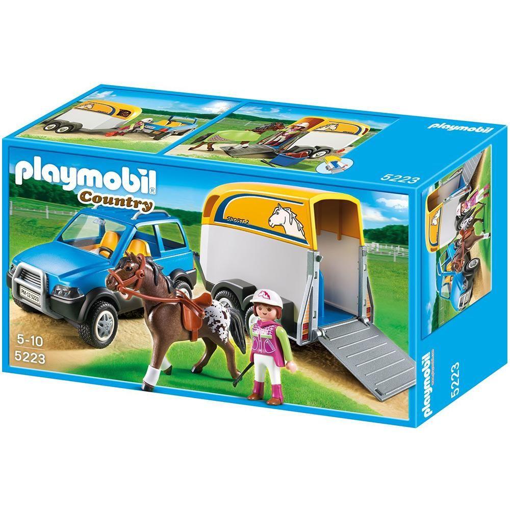 Playmobil Country SUV ile At Karavanı Oyun Seti 5223 :: Beğen AVM
