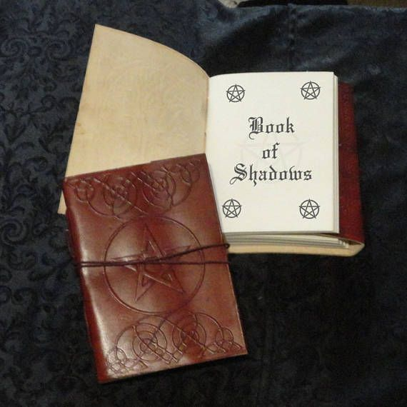 Leather Pentagram Grimoire