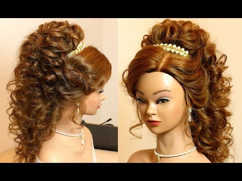 Prom Hairstyle For Long Hair Tutorial Youtube Long Hair Tutorial