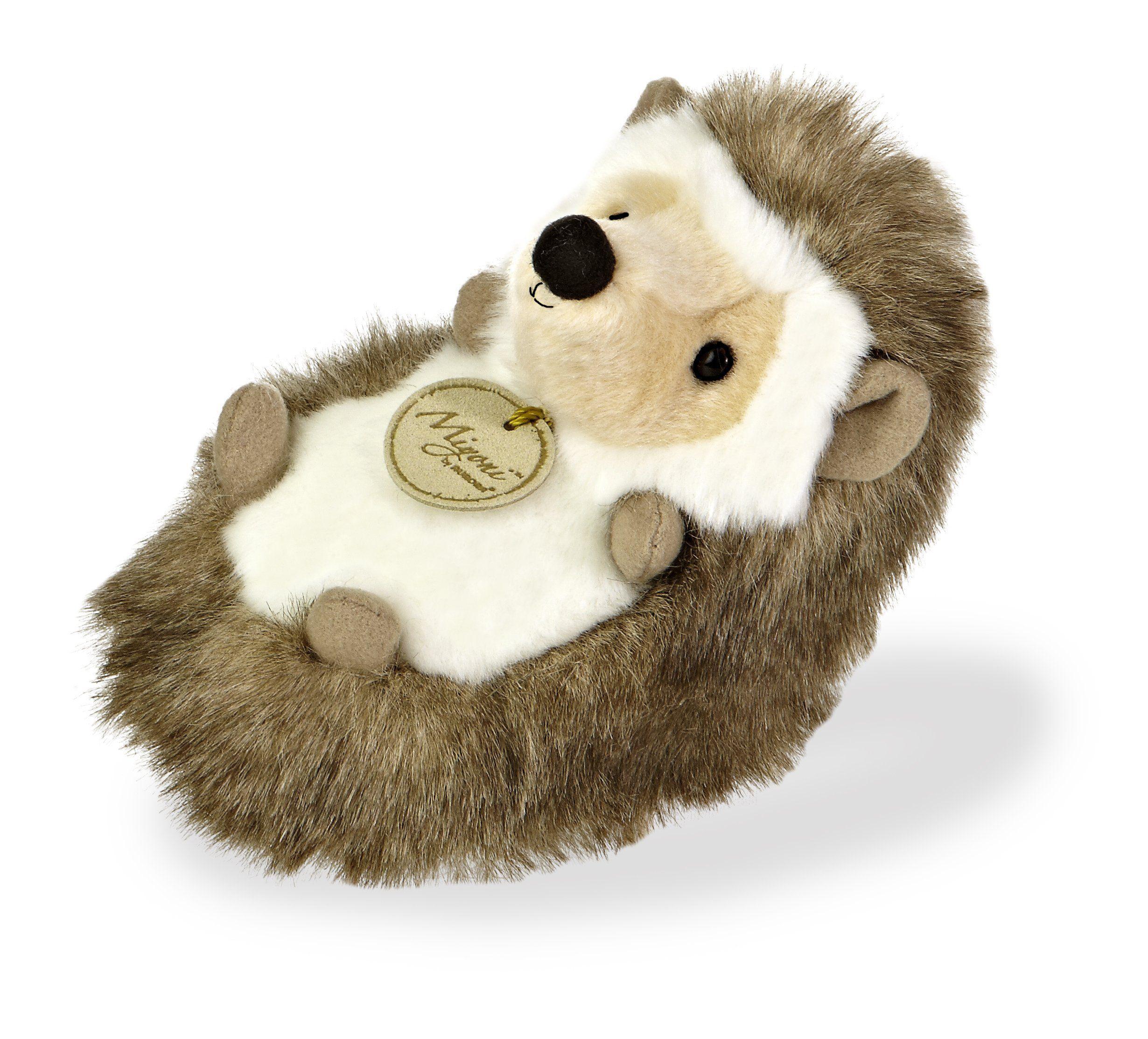 Aurora World Miyoni Small Hedgehog Plush Teddy Bear Stuffed Animal Plush Animals Plush Toy [ 2226 x 2460 Pixel ]