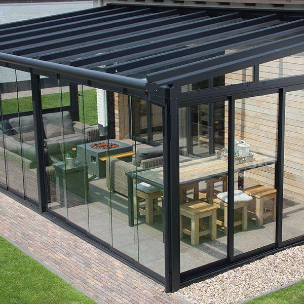 Pergola Designs Glass Roof: Garden Glass Rooms, Verandas And Pods