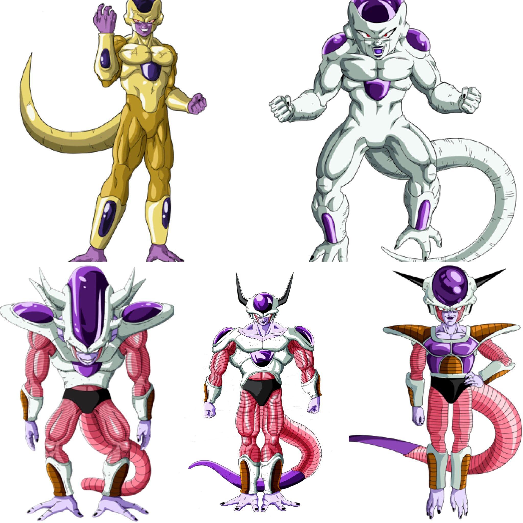 Frieza Forms Frieza Freeza Goldenfrieza Dbz Dbs Dragonballz Dragonballsuper Dragones Dragon Ball Dragon Ball Super