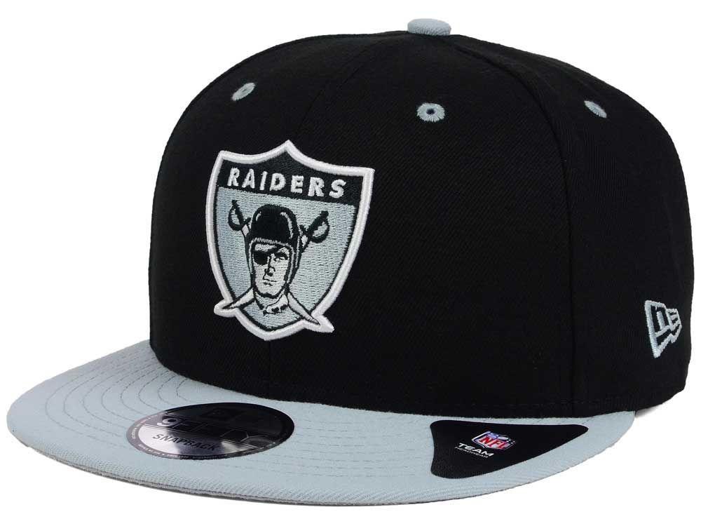 premium selection 15712 559c4 Oakland Raiders New Era NFL Historic Vintage 9FIFTY Snapback Cap