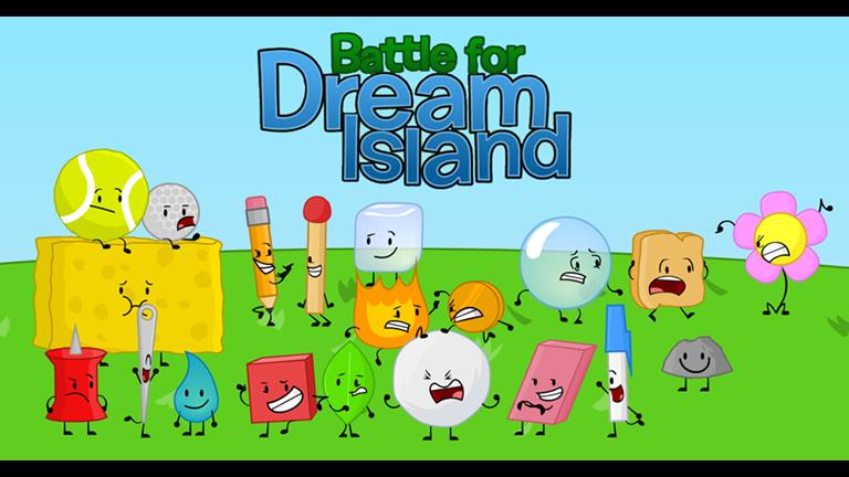 Battle For Dream Island Inanimate Insanity Idfb Roblox Battle Flower Power Dream