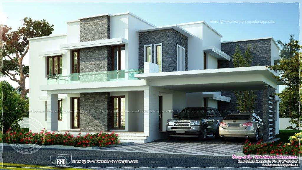 Modern Kerala House Design Duplex House Design House Designs