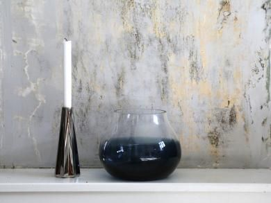 RO Collection - Flower Vase no. 23 Indigo