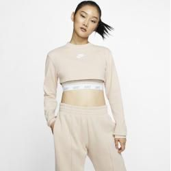 Nike Air langärmliges Crop Top für Damen - Braun Nike #cutecroptops