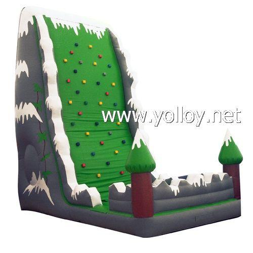 Inflatable Everest Slide: Inflatable #RockClimbing #BouncyCastle