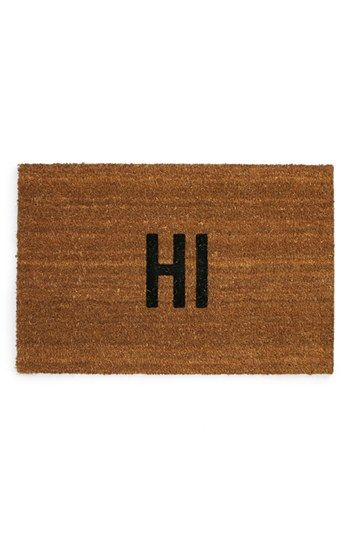 Cute Doormat Door Mat Fancy Houses Outdoor Interior Design