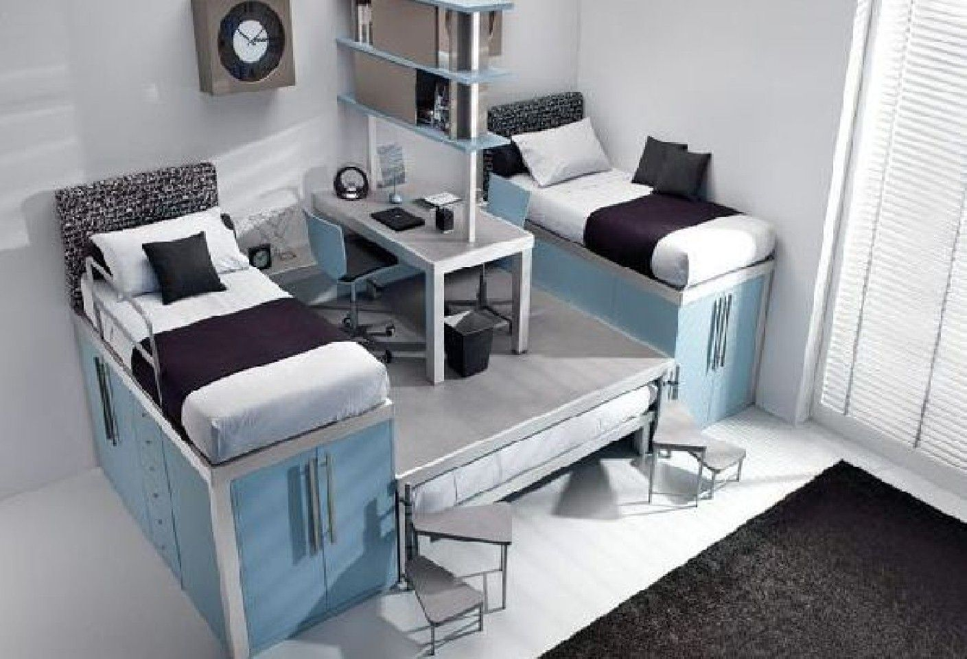 Twin Beds For Kids Absolutely Will Be Required By The General Parents That  Have Twin Kids. Twin Bedroom Decors To Find Great House Decorating Ideas,  ...