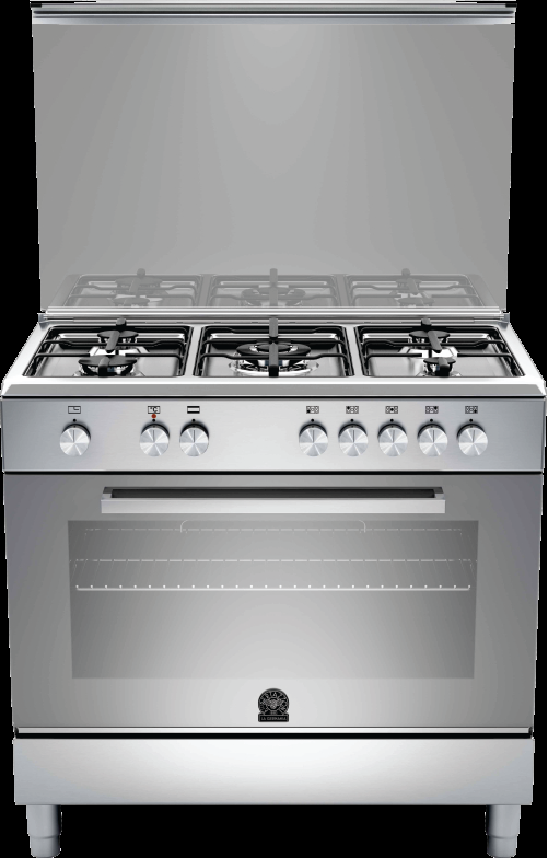 Orchidea Single Oven Cooker Has A Stamped Stainless Steel Worktop With 5 Burners La Germania By Hafele Hafele Single Oven Oven Cooker