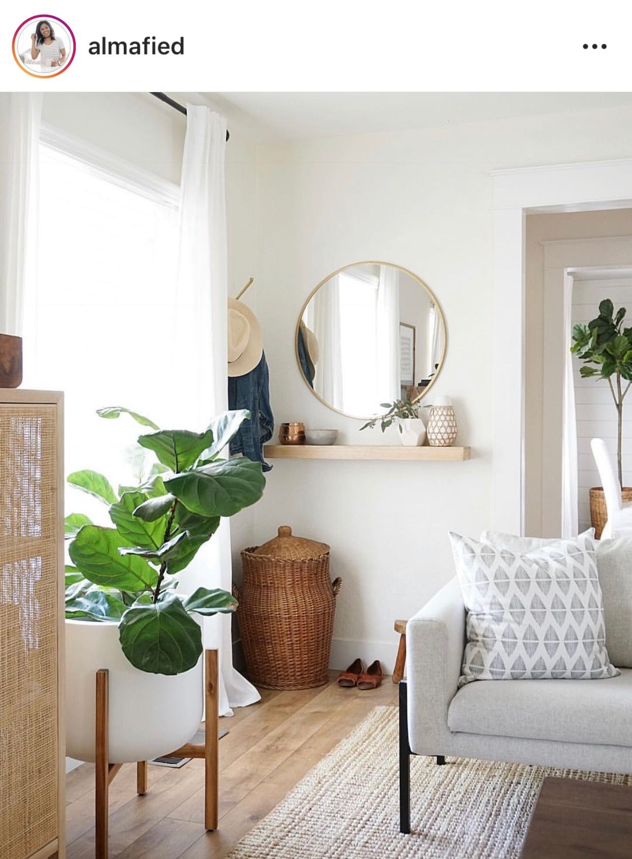 Pin by Megan Rossman on h o m e Living room mirrors