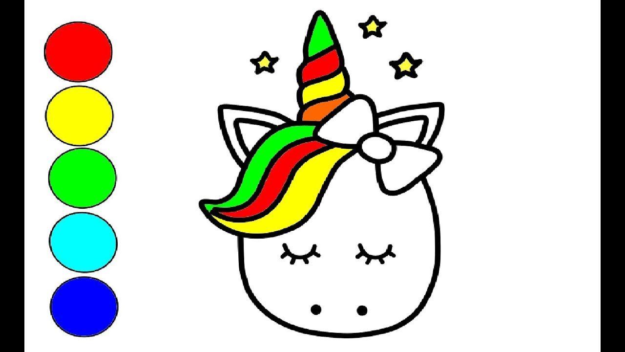 Unicorn Zeichnen Und Malen Fur Kinder Unicorn Zeichnen Einhorn Zeichnen Zeichnen