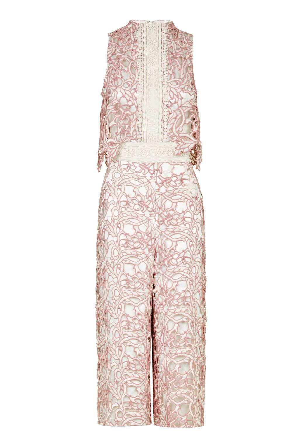 Two tone lace jumpsuit rompers u jumpsuits clothing