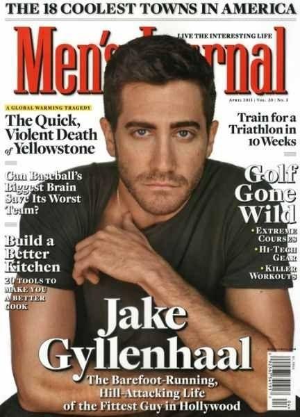 Men's Journal- Jake Gyllenhaal   Magazine Cover's   Haircuts
