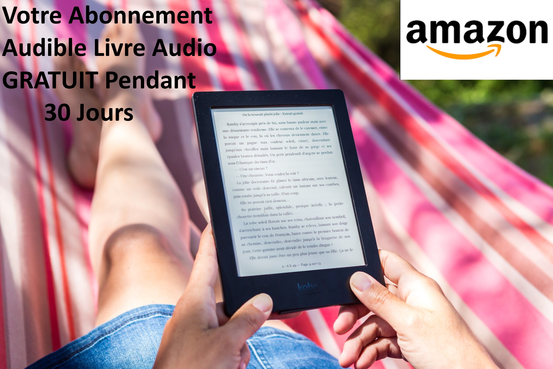 Abonnement Amazon Audible Gratuit en 2020 Livre