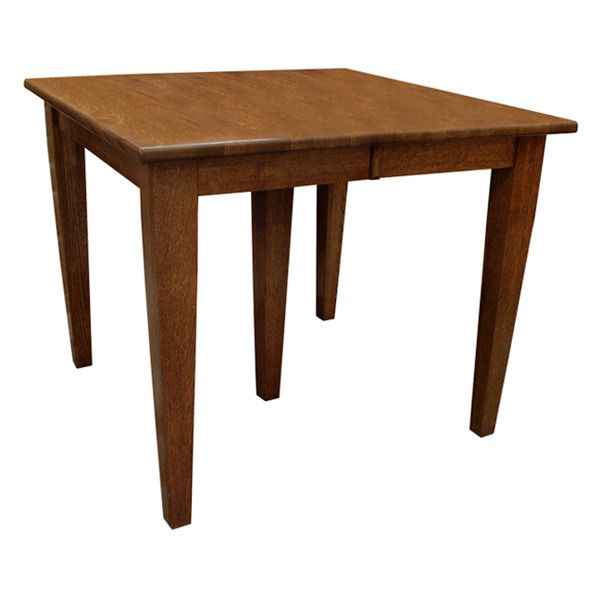 this amish mission harvest shaker dining table with leaves boasts an unparalleled level of craftsmanship in