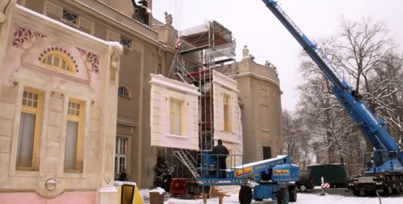 Adaptación para convertirlo en  the-grand-budapest-hotel