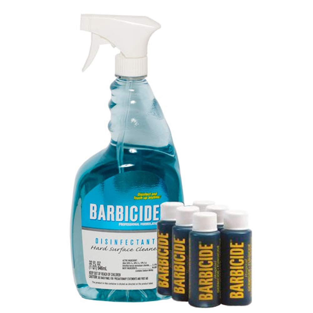 King Research Barbiside Spray Disinfectant With Bullets 2020