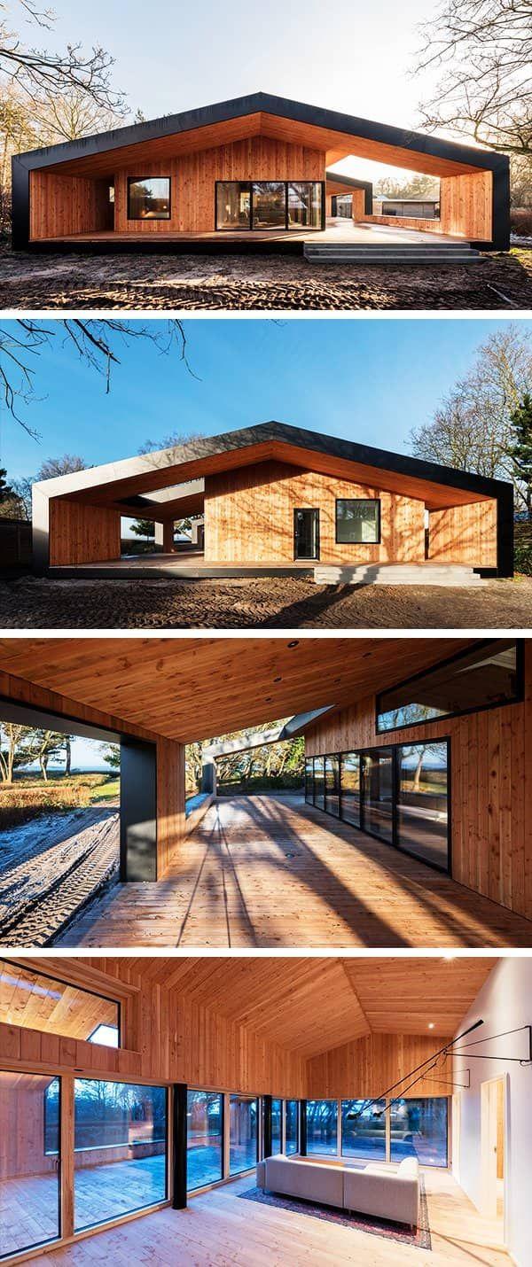 Treldehuset Sommerhaus von CEBRA in Vejle, Dänemark