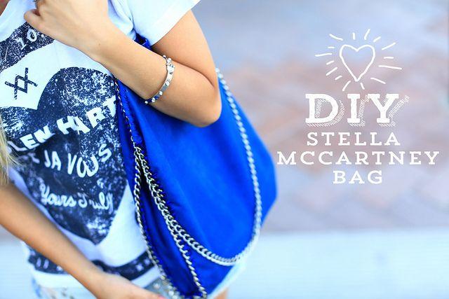 love this DIY Stella McCartney inspired bag!