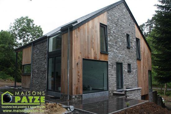 Maison #bioclimatique sur terrain en pente    wwwm-habitatfr