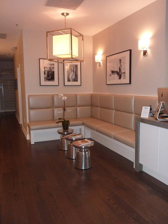 Reception Area Bench Seating