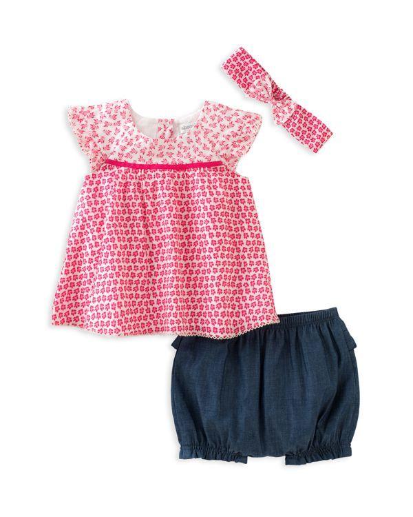 ade8d71b0e6e Absorba Infant Girls' Top, Shorts & Headband Set - Sizes 0-9 Months ...