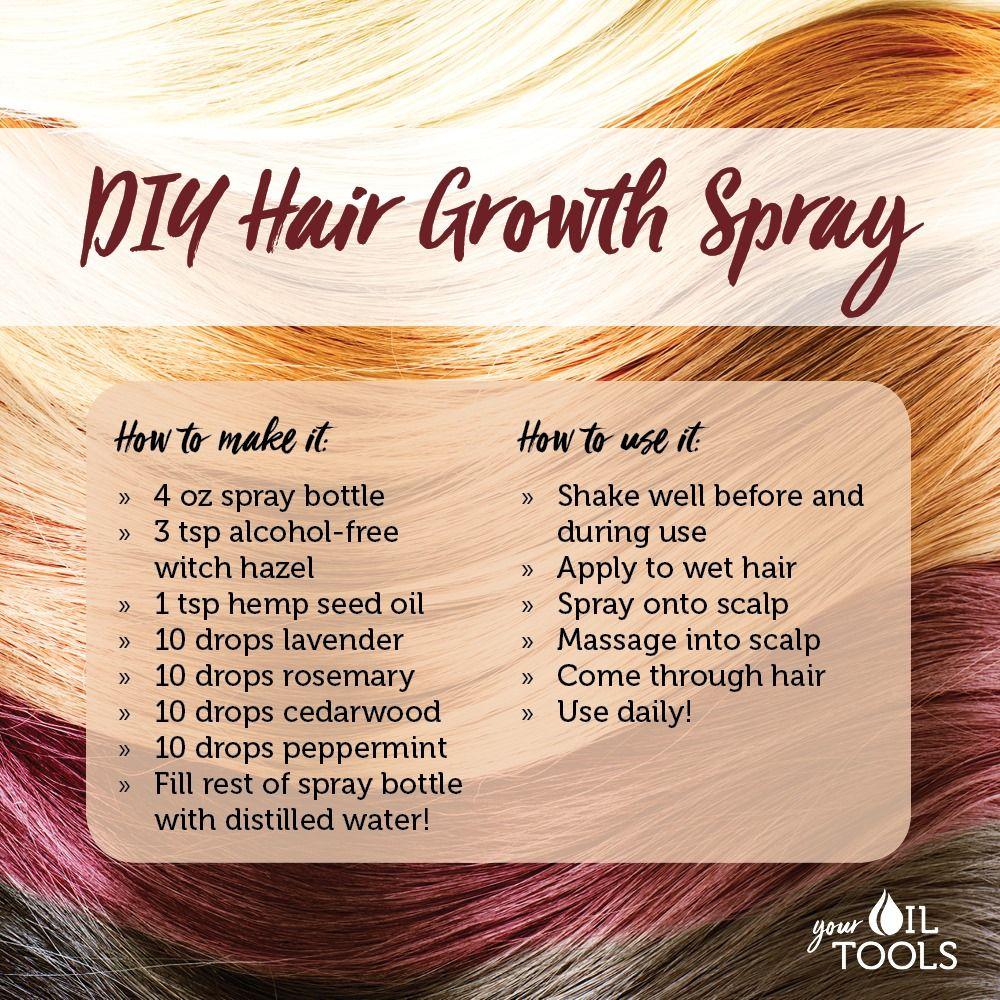 DIY Hair Growth Spray
