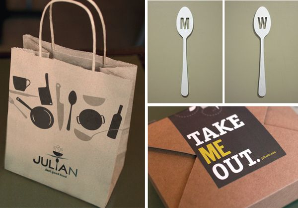Julian Restaurant by Nathaniel Cooper, via Behance