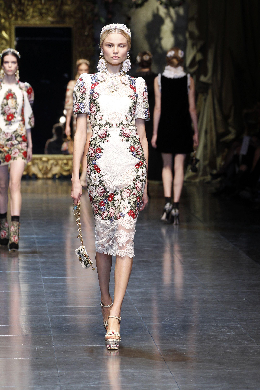 6cdf811e71 Dolce & Gabbana - Gallery Sfilata Donna - Autunno Inverno 2013 ...