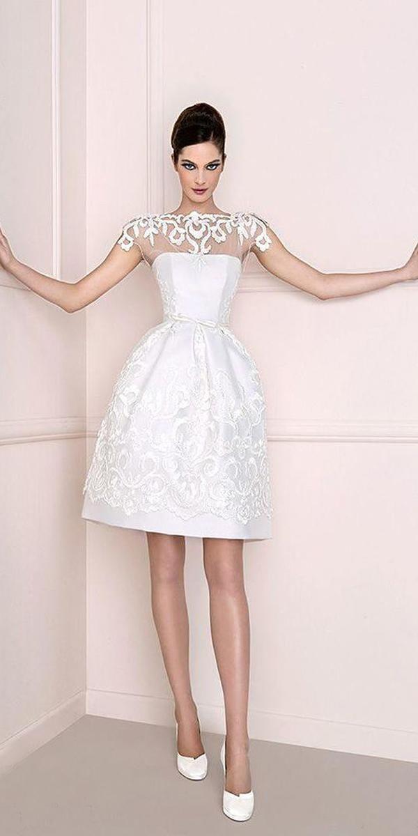 24 Hot Sexy Short Wedding Dresses