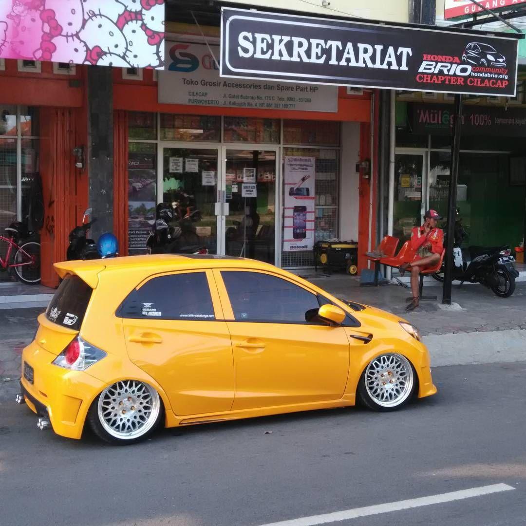 Modifikasi Mobil Brio Warna Kuning Vehicles Cars