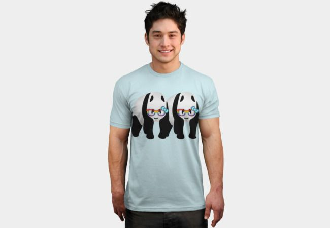 1c412379 Gay Pride Panda Bears T Shirt By Mailboxdisco Design By Humans | Raw ...