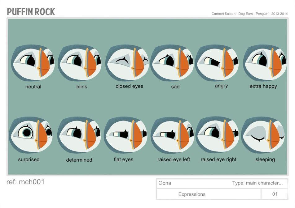 puffin rock3   Character Design   Pinterest