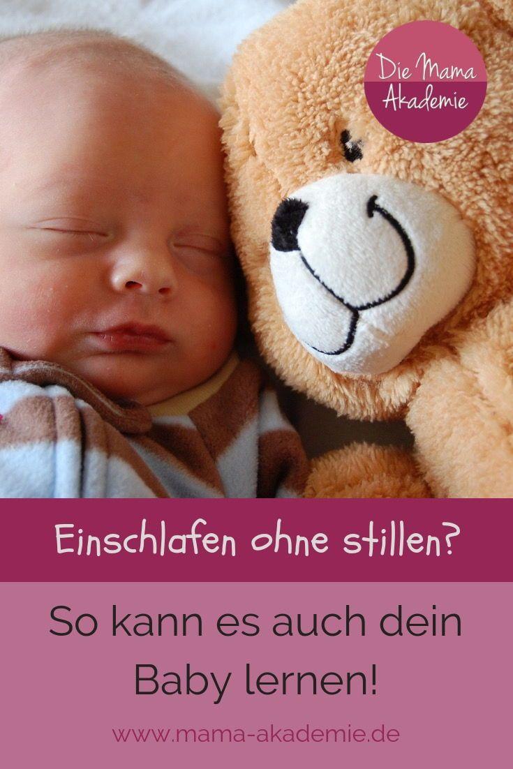 Baby Schläft Beim Stillen Ein Und Wird Nicht Satt