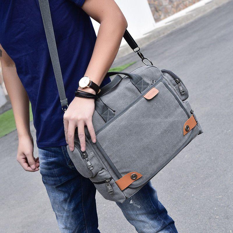 Best Shoulder Messenger Bag For Men Waterproof Traveling Pockets Male Canvas New Canvas Messengersho Shoulder Bag Men Handbags For Men Shoulder Messenger Bag