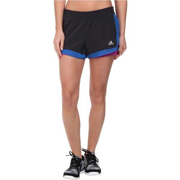 adidas 2-in-1 Woven Short Women's Shorts, Black ($25) ❤