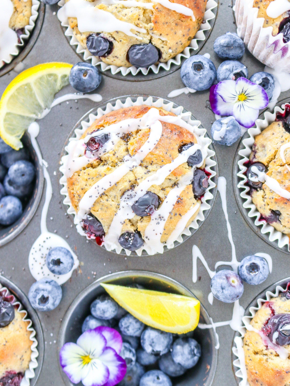 one bowl blueberry lemon poppy seed muffins my lovely