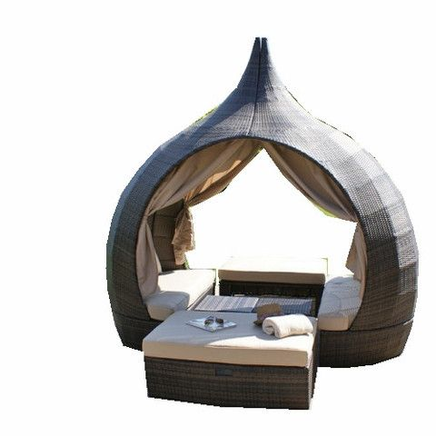 outdoor wicker day bed temple robcousens indoor outdoor furniture 2199 - Garden Furniture Day Bed