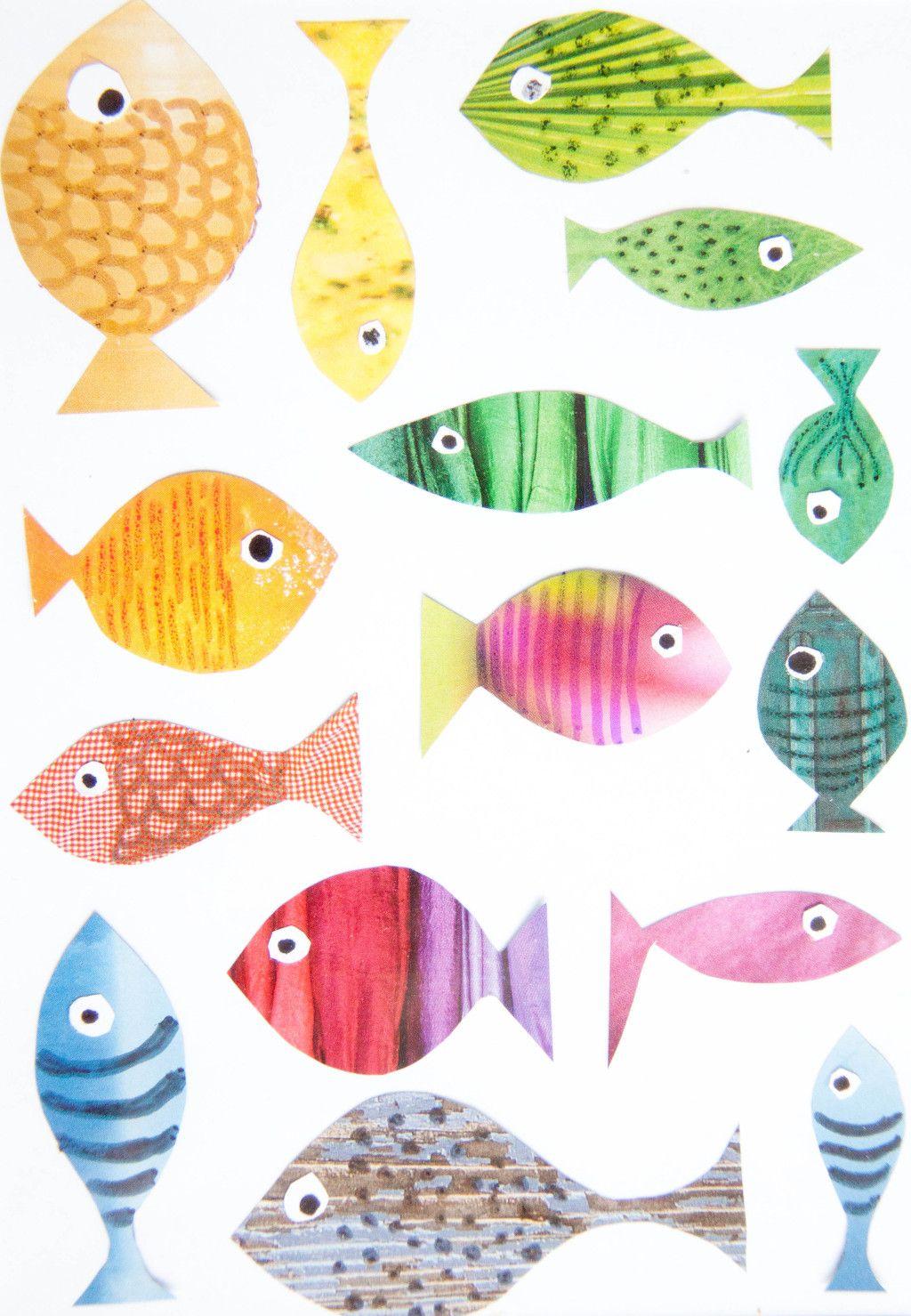 Fische basteln mit Kindern | Pinterest | Fische basteln ...
