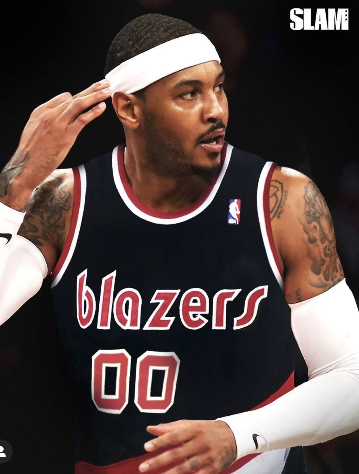 Carmelo Anthony Is Back Stoked Let S Go Carmelo Anthony Carmelo Anthony Wallpaper Portland Blazers